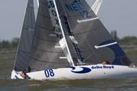 """""""mixed sailing"""" in de 2.4mR."""