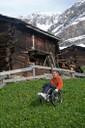 Contrast of colors,  Zermatt